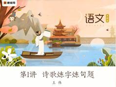 高中高二语文春季系统辅导班教学视频(王伟老师 17节)