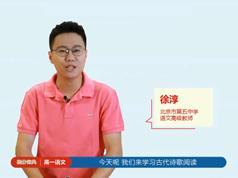 2019高一语文提分宝典教学视频全套(徐淳老师 4大板块)