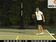 五虎篮球教学3_篮球教学全集_whzs战术-双人切入传球练习