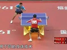 尚坤乒乓球教学视频_国手尚坤左手横板乒乓球教学视频合集