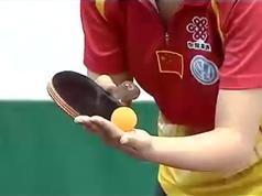乒乓球教学片_奥运冠军王励勤马琳王楠明星示范_乒乓球要领技巧