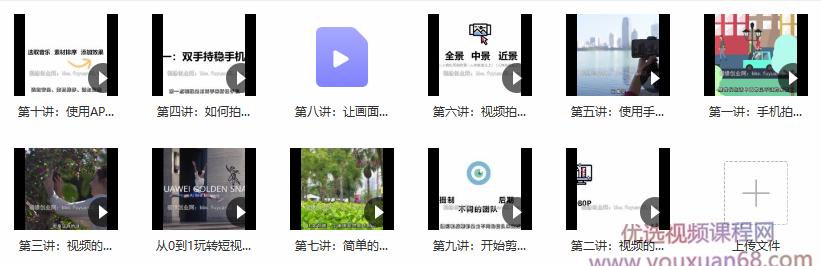 图片[2]-从0到1玩转手机短视频:前期拍摄和后期剪辑,快速入门 - 网创资源库-网创资源库