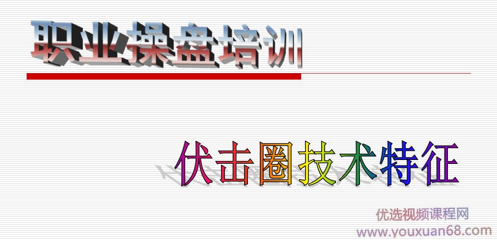 伍朝辉-伏击圈培训班 文档资料