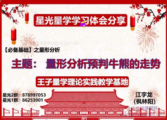 江宇龙(枫林阳)王子量学理论实践第23期