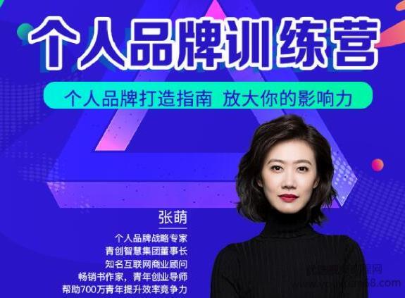 张萌萌姐个人品牌训练营,个人品牌打造指南,放大你的影响力