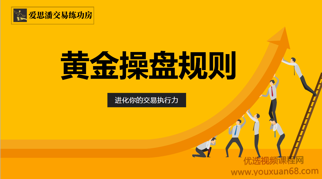 爱思潘交易练功房-黄金操盘规则2019年操盘直播录像