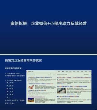 企业微信营销资料合集